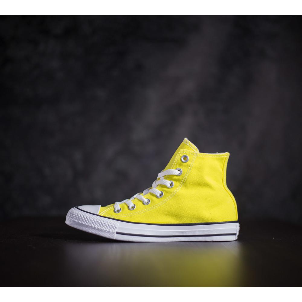 Vysoké sviežo žlté tenisky Chuck Taylor all star HI od značky ... f722efcba4b