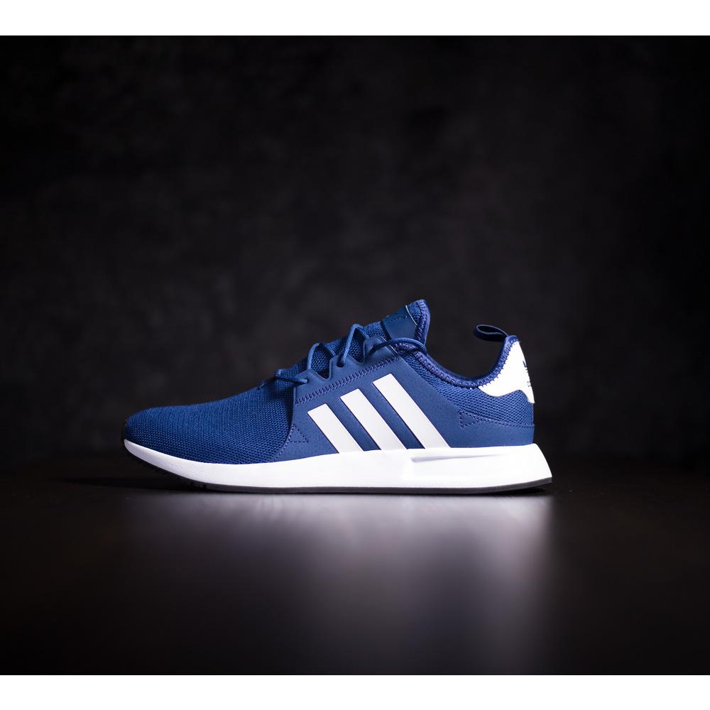 3d38fdd32 Pánske modré tenisky adidas X_PLR s bielou EVA podrážkou s ...