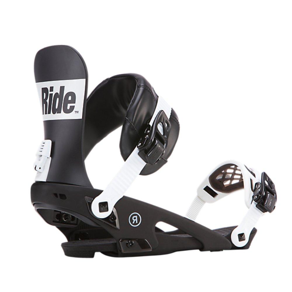 ec24cf1ff Pánske snowboardové viazanie RIDE Rodeo v čiernej farbe s bielymi ...