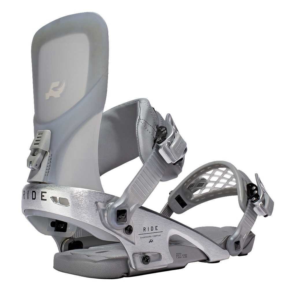 7e3d095f7 Pánske snowboardové viazanie RIDE Rodeo v šedej farbe v kombinácii ...