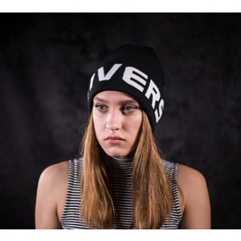 EMBROIDERED WATCHCAP KNIT