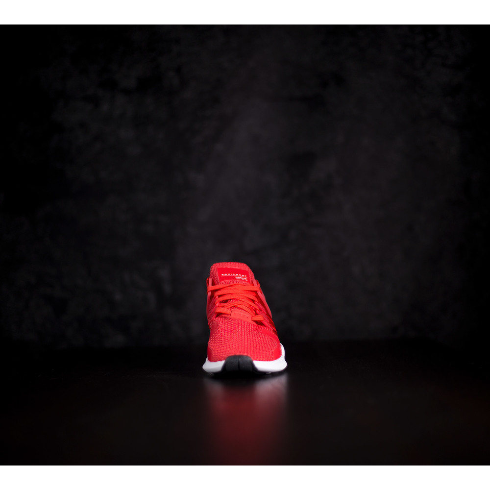 cac77bc50ca4 Dámske červené tenisky Adidas EQT Support ADV s bielou EVA podrážkou ...