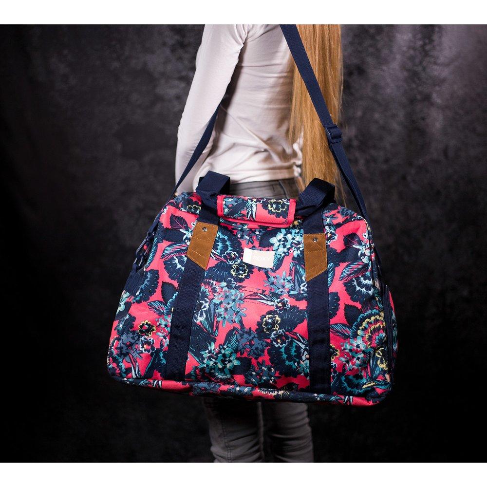 d69a4ca2f6 Dámska športová farebná taška Roxy Sugar It Up s kvetinovým vzorom ...