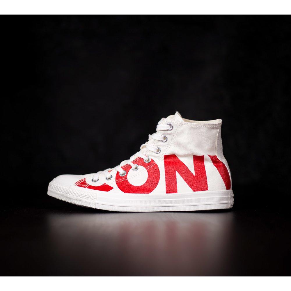 f8a0cb49c Pánske vysoké biele tenisky Converse Chuck Taylor 1 all star plátené ...