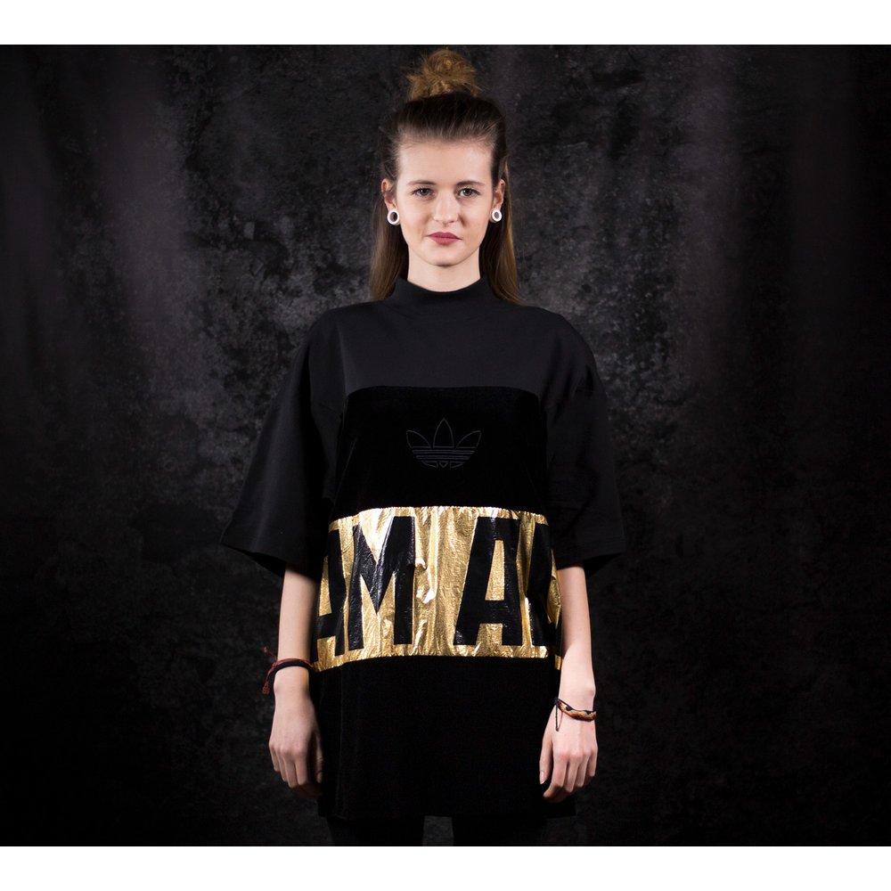 Dámske čierne tričko Adidas Sweater s krátkym rukávom 78b0277e0e5