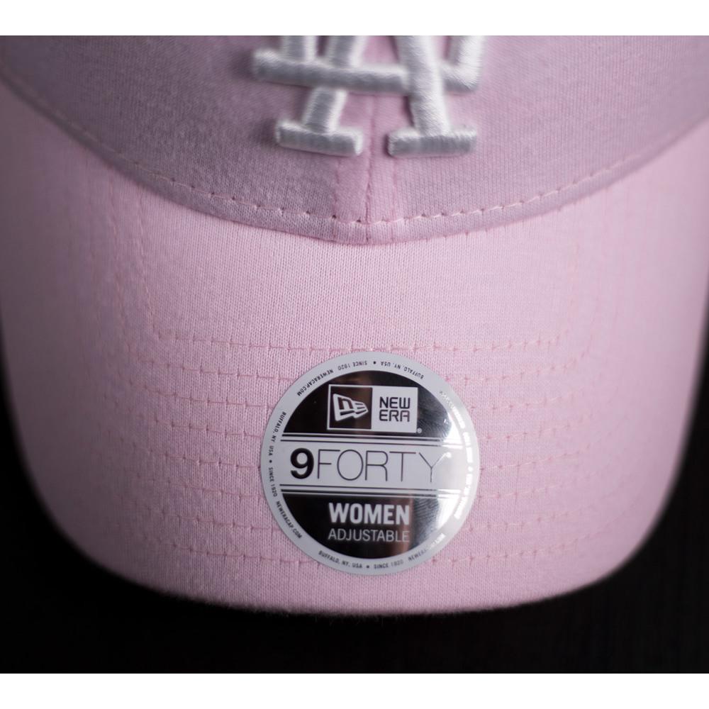 fe2e3c325 Dámska ružová šiltovka New Era 940 Jersey s vyšívaným logom tímu LA ...