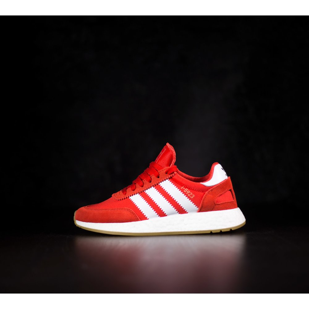 aeaadd1d34ef Červené tenisky Adidas Iniki Runner s boost podrážkou