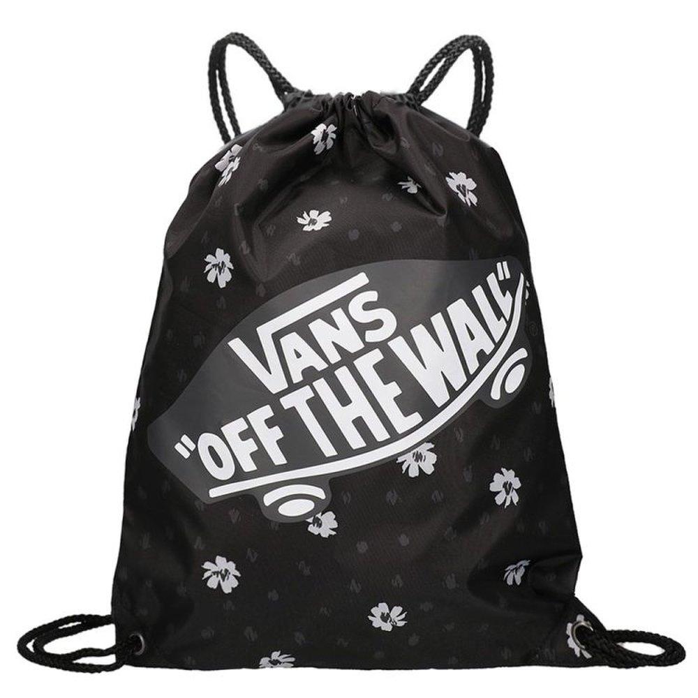 Čierne vrecko Vans Benched Bag s bielymi kvietkami 661192eb5af