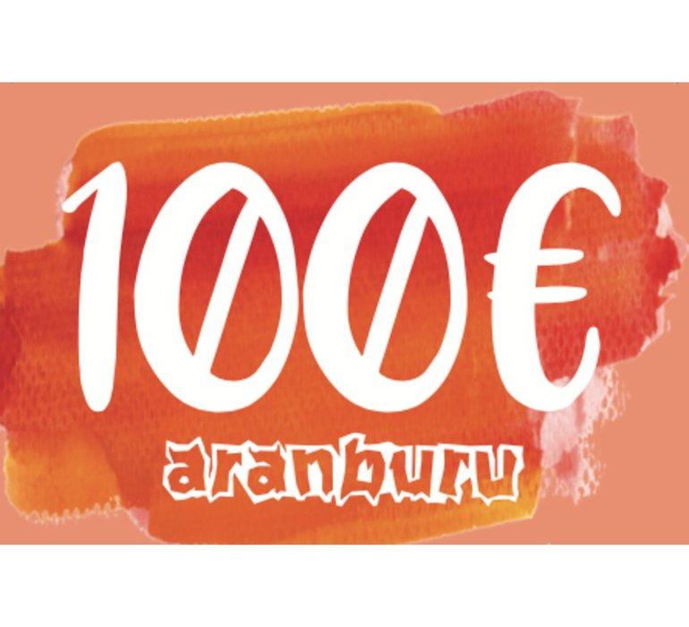 Darčekový poukaz aranburu 100€