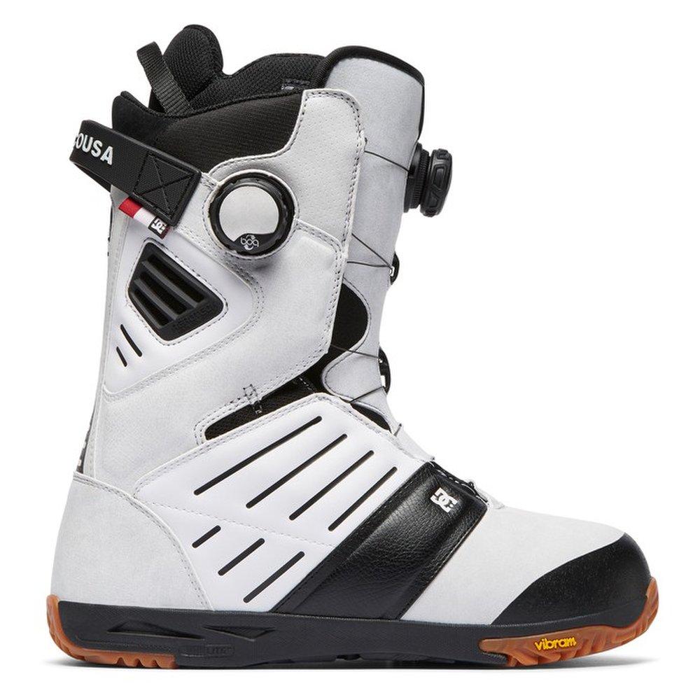 899bfa089661 Pánske biele snowboardové topánky DC shoes model Judge s Boa ...