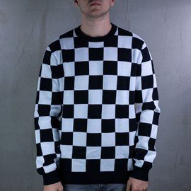CHECKER SWEATER
